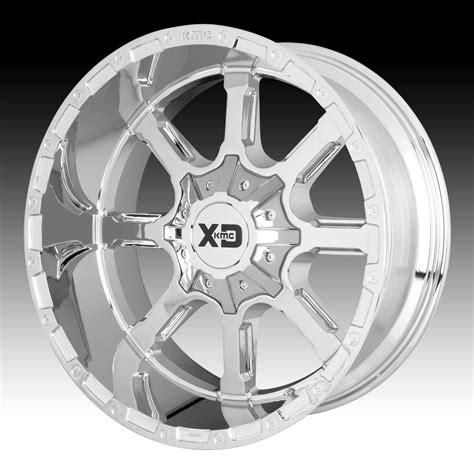 chrome xd wheels kmc xd series xd838 mammoth chrome custom wheels rims xd
