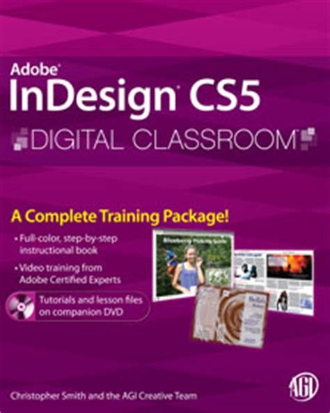 tutorial indesign book setup indesign cs5 digital classroom book official site