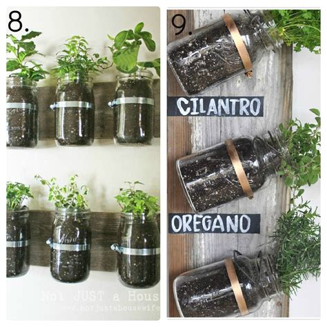 23 Mason Jar Ideas Mason Jar Decor Mason Jar Candles Jar Herb Garden Wall