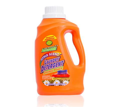 Awesome Citrus Scent Laundry Detergent Orange Power La S Orange Laundry