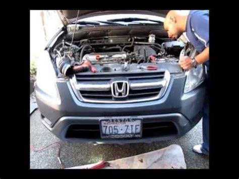 honda crv knock sensor replacement works  accord  civic youtube