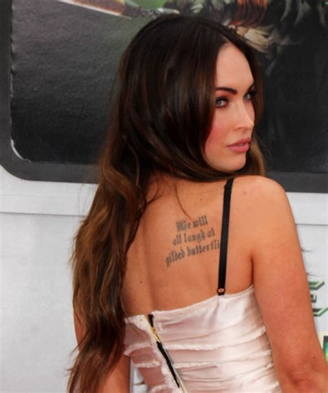 Megan Fox Long Straight Casual <a  href=
