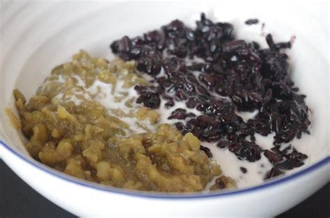 Panci Bubur Kacang Ijo berkreasi di dapur bubur kacang hijau ketan hitam