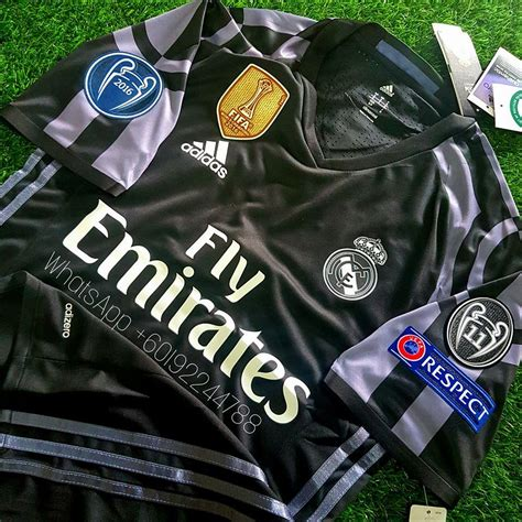 Jersey Real Madrid 3rd 1516 Patch Ucl real madrid third jersey jersi 201 end 2 13 2018 6 54 pm