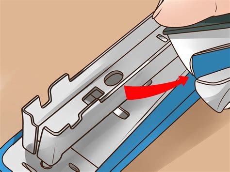 how to a to and outside 5 ways to fix a jammed manual stapler wikihow
