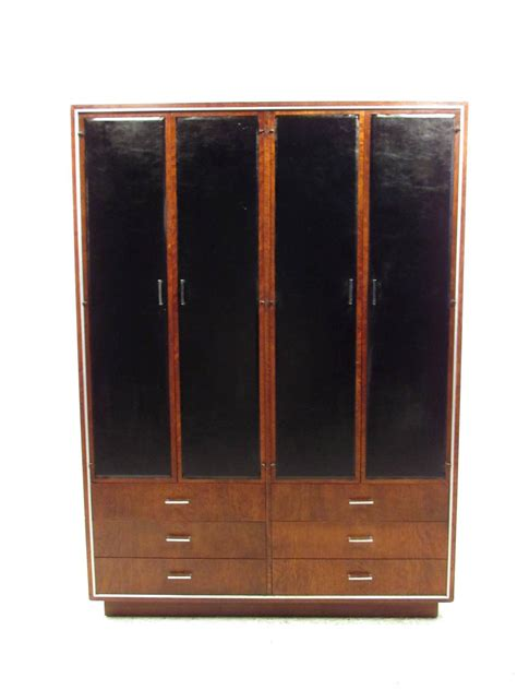 Modern Wardrobes For Sale stuart for widdicomb mid century modern wardrobe armoire for sale at 1stdibs