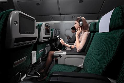 cathay pacific economy comfort new level of comfort for cathay pacific auckland airport