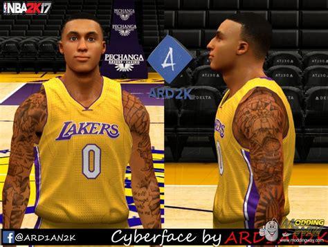 dna of basketball dnaobb nba 2k18 kyle kuzma s tattoos kyle kuzma 2k17 version by ard1an2k nba 2k14