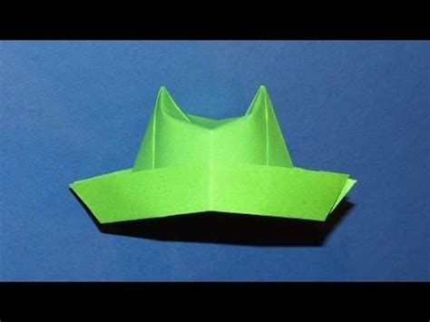Origami Chef Hat - 17 best images about origami wardrobe