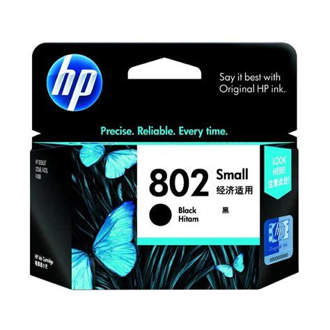 Hp Cartridge 802 Black Tinta Hp 802 Hitam Diskon jual hp 802 ink cartridge small black harga