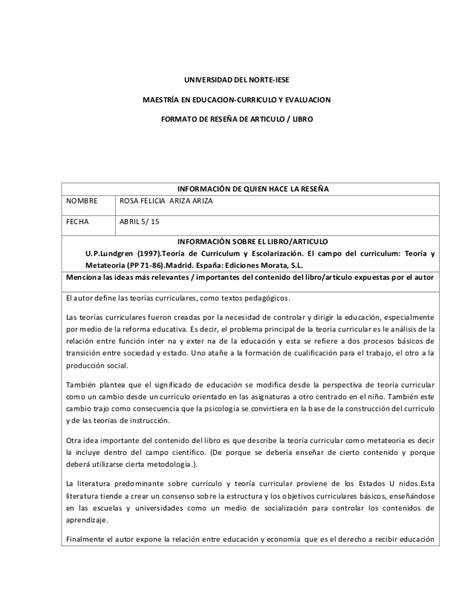 Modelo Curriculum Iese Documento De Rese 241 As Grupo