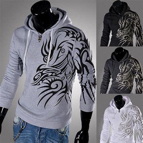 tribal tattoo jacket cool men s hoodies men sweatshirts men s casual by