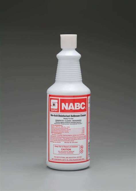 Non Acid Disinfectant Bathroom Cleaner by Restroom Chemicals Fulton Distributing