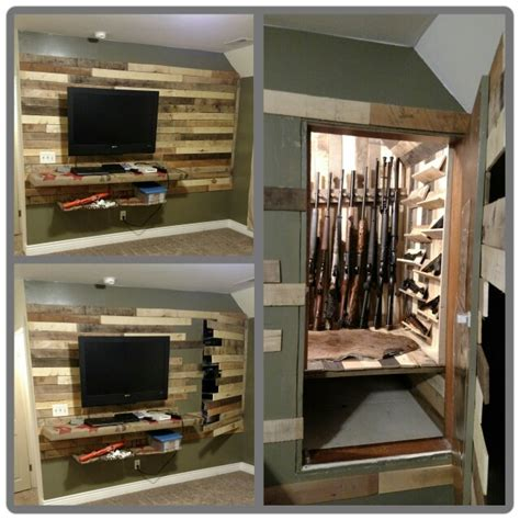 Closet Gun Rack by Door To Gun Closet Https Www Stashvault