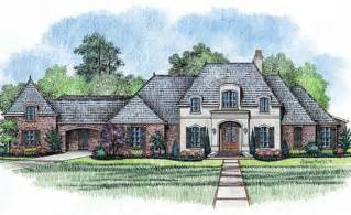 French Country Style House Plans by French Country Style House Plans 4000 Square Foot Home