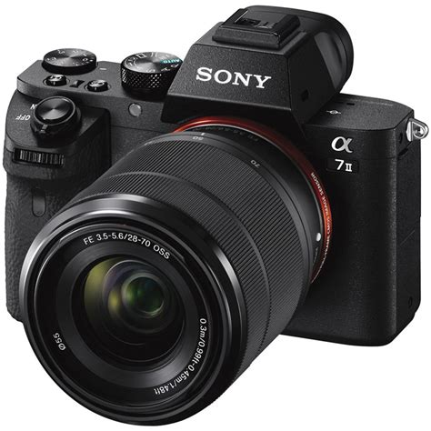 Digital Sony sony alpha a7 ii mirrorless digital with fe ilce7m2k b