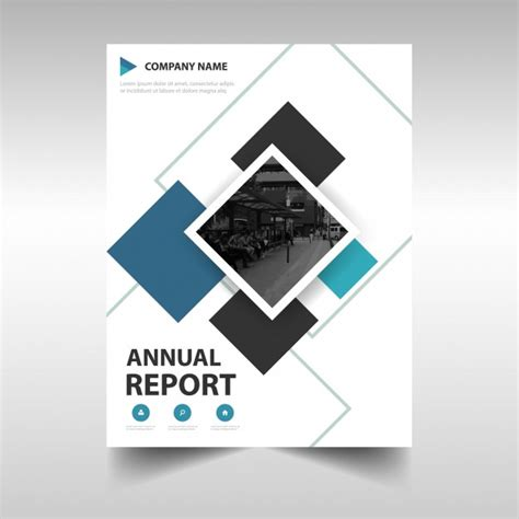 libro graphic design the new modern annual report cover vector free download