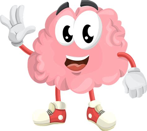 brain clipart brain brainstorming character 183 free vector graphic on pixabay