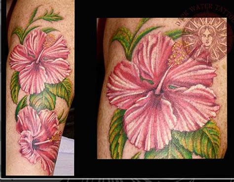 tattoo pictures hibiscus flowers hibiscus flower tattoos on foot tattoo expo