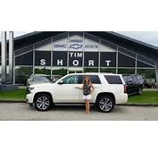 Trena's New 2015 Chevy Tahoe LTZ  Tim Short Buick GMC