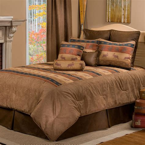 Pine Cone Bedding Set Luxury Pine Cone Bedding Cabin Place