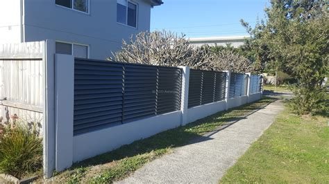 fence awning louvers fence with fixed welded louvers eco awnings