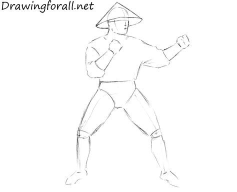 Mortal Kombat X Sketches by How To Draw Raiden From Mortal Kombat Drawingforall Net