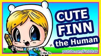adventure time finn how to draw cartoon chibi characters