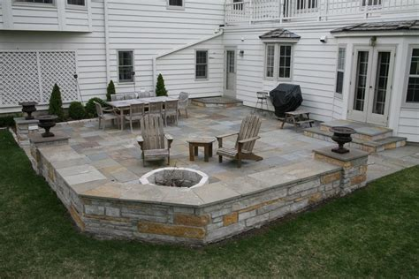 backyard stone patio ideas 25 great stone patio ideas for your home thefischerhouse