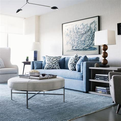 1151 Best Images About Blue And White On Pinterest Blue Blue Sofas Living Room