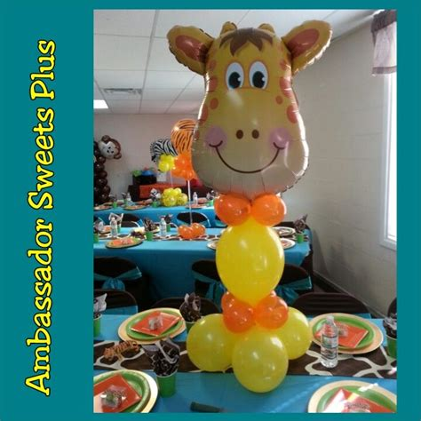 Jungle Theme Baby Shower Balloons discover and save creative ideas