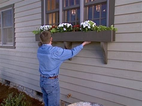 diy window box how to build a window box planter how tos diy