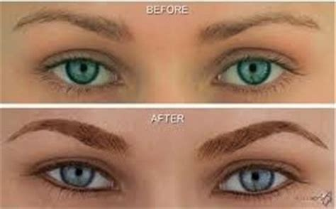 tattoo eyebrows in maryland permanent makeup before and after photos lisa bunin md