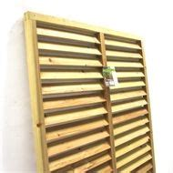 Store Bois Exterieur 611 by Timber Acq Treated Pine Horizontal Louvre Screen 180cm
