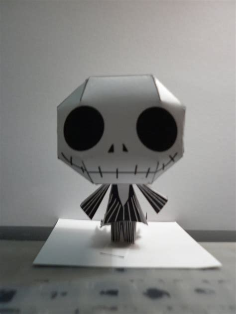 Skellington Papercraft - chibi skellington papercraft by hoshiterasu on deviantart