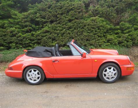 porsche spyder 1990 1990 porsche 911 carrera model 964 kayvee shannons club