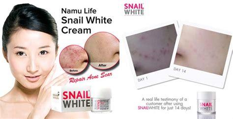 50ml Snail White By Namu Original new snail white filtrate secretion acne