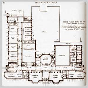 school floor plans university elementary school building