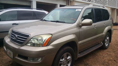 tokunbo 2004 lexus gx470 for sale 08023295044 autos