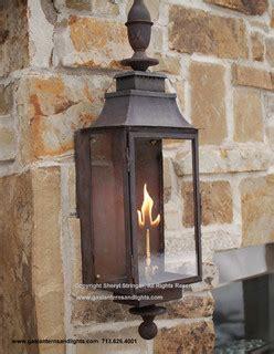 Gas Porch Light by Sheryl S Grande Gas Lantern With Patina Finish