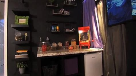 diy home concession stand snack station projects