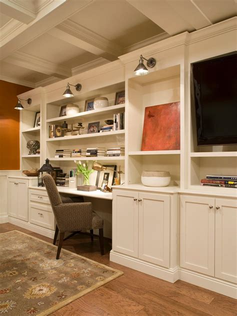 home office built ins photos hgtv