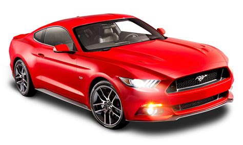 ford car png ford mustang red car png image pngpix