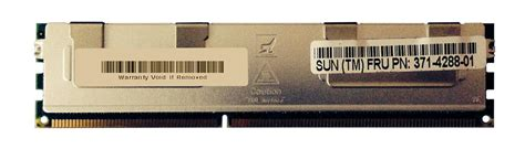 Ram Ddr3 Sun 371 4288 sun 4gb ddr3 pc10600 memory