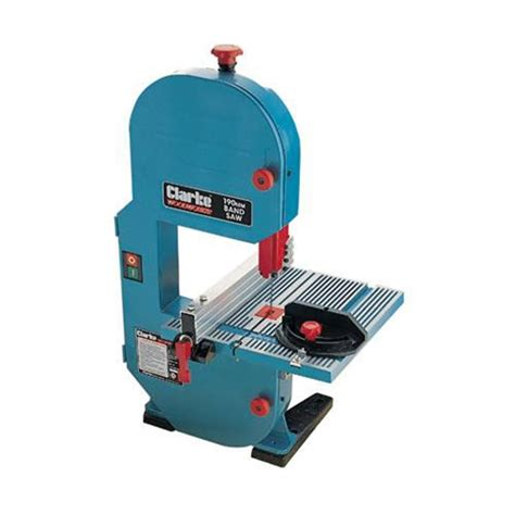bench top bandsaw clarke cbs190 7 bandsaw 187 product