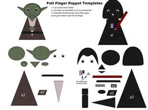star wars finger puppet templates grant michael gardner