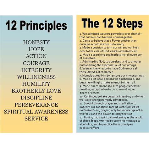 Step One Worksheet Of 12 Steps by 12 Step