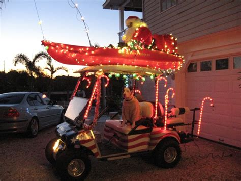 golf carts decerated for christnas 38 best images about golf cart decorating on golf carts decorations and