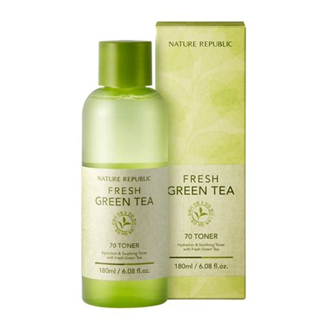Viva Toner Green Tea nature republic fresh green tea 70 toner 180ml