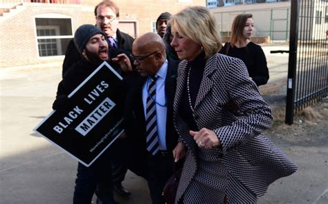 betsy devos today bam photo shows betsy devos had the last laugh at today s